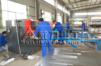 w66利来国际官网厂家到秦皇岛客户生产车间互访